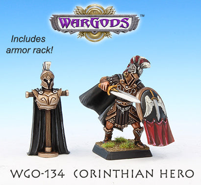 WGO-134 Corinthian Hero and Armour Rack