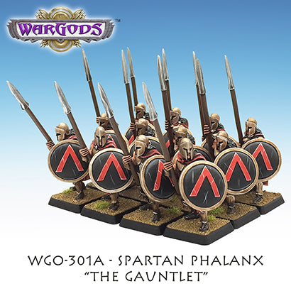 WGO-301a Spartan Hoplite Unit - The Gauntlet