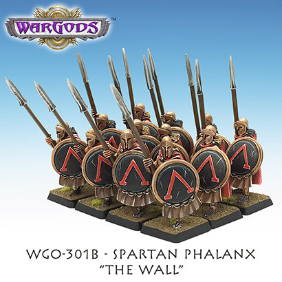 WGO-301b Spartan Hoplite Unit - The Wall