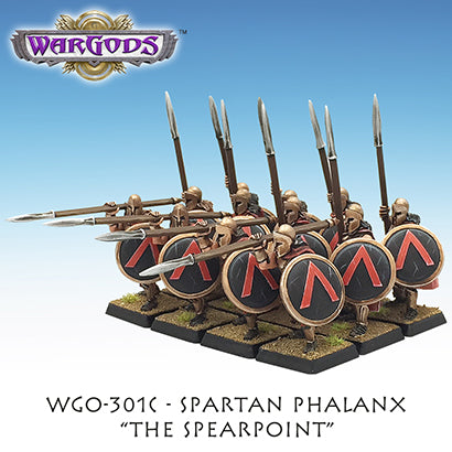 WGO-301c Spartan Hoplite Unit - The Spearpoint