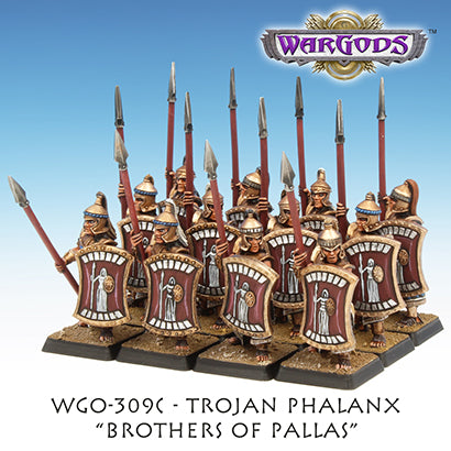 WGO-309c Trojan Hoplite Unit - Brothers of Pallas