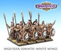 WGO-323a Corinthian Hoplite Unit - White Wings