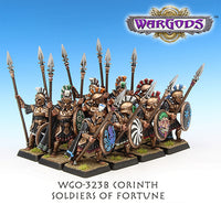 WGO-323b Corinthian Hoplite Unit - Soldiers of Fortune