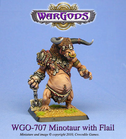 WGO-707 - Monster - Minotaur with flail