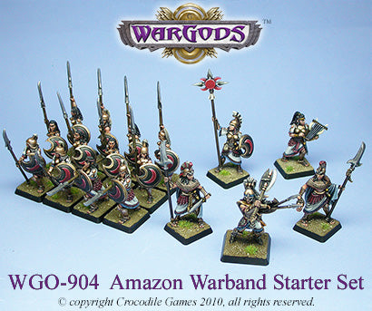 WGO-904 - Olympus - Amazon Warband Starter Set