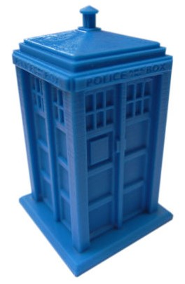 YM013 Blue Police Box