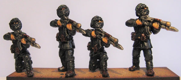 TW-32 - New Caliphate Guardsmen Firing Line with Auto Rifle