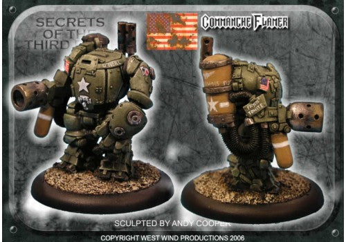 US-SOTR16 - US Battlesuit Flamethrower