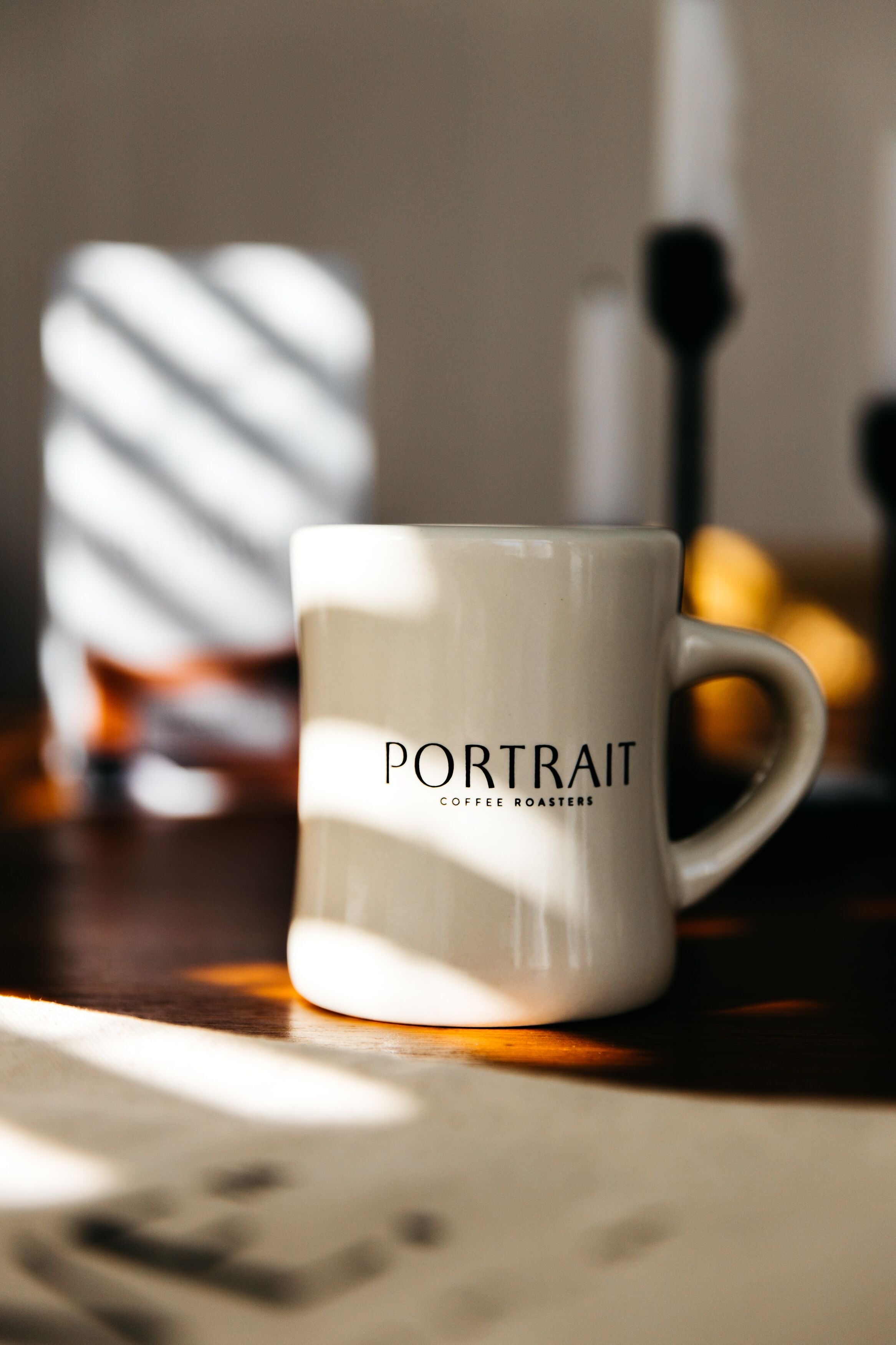 'Pouring a New Narrative' Diner Mug - Portrait Coffee