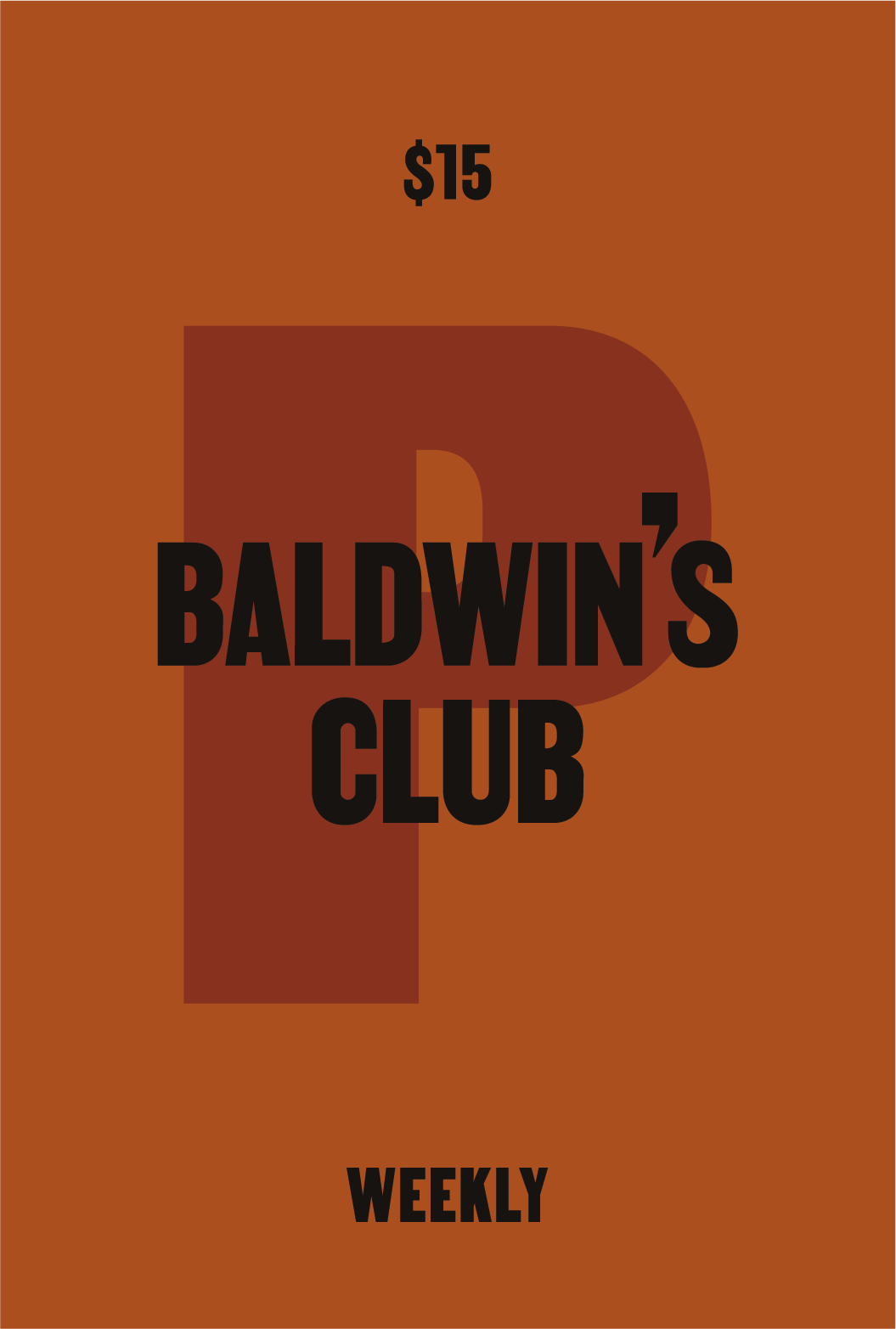 Baldwin's Club: Coffee Every Week