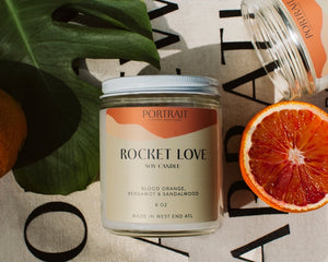 ROCKET LOVE - A Portrait Candle - WS