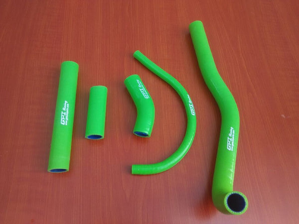 Silicone Radiator Coolant Hose For Kawasaki Kx500 Kx 500 1988-2004 GREEN 1996