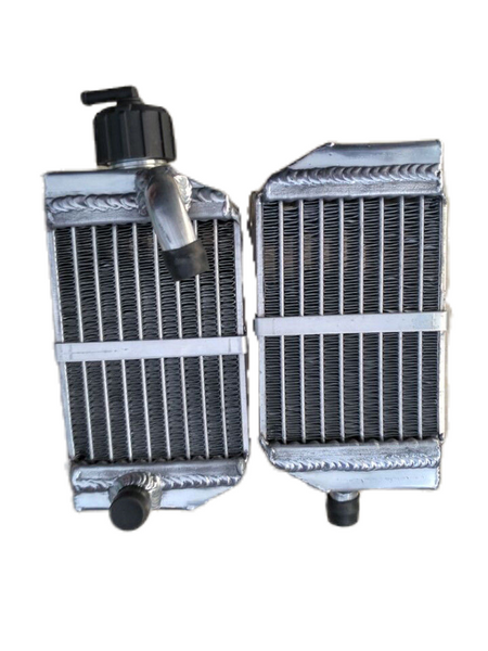 FOR KTM 50 SX SX50/SX MINI/SXS 50cc/ 49cc Aluminum Radiator 2012-2017 2013 2014 2015 2016