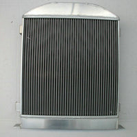 3 ROW Aluminum Radiator for Ford 1932 hot rod w/Chevy 350 V8 engine