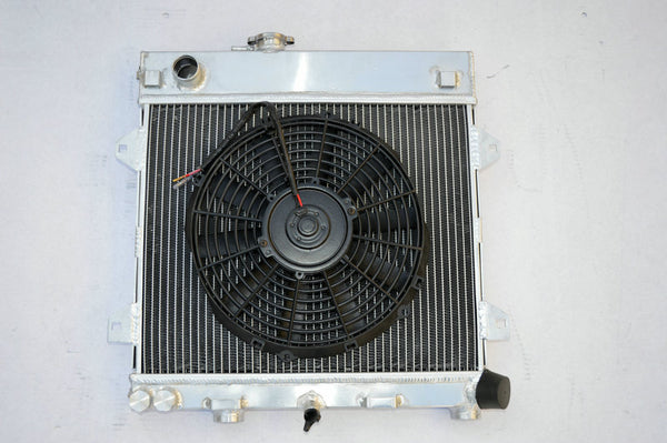 Aluminum radiator & FAN for BMW E30 M10 316i 318i MT 1982-1991 83 84 85 86 80 90 91