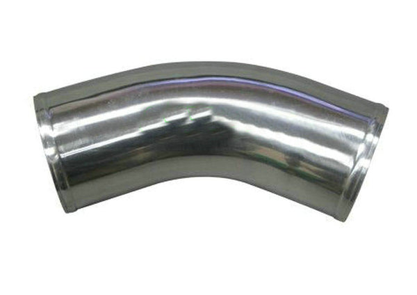 "102mm 4"" inch 45 Degree Aluminum Turbo Intercooler Pipe Piping Tubing Hose Length=270mm"