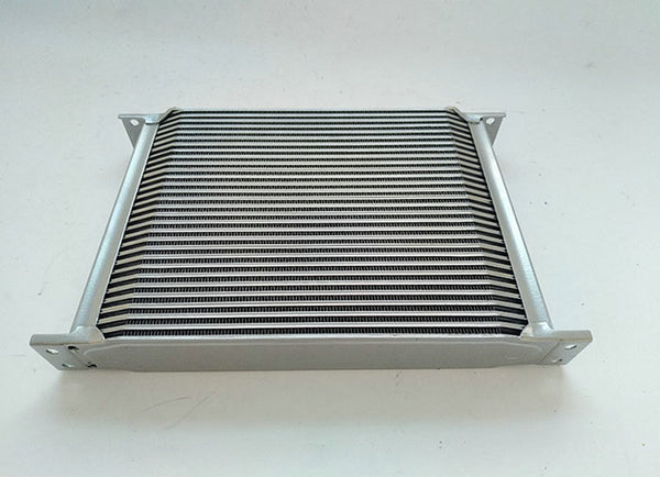 FOR Silver Universal Mocal style 30 Row Engine Transmission 10-AN AN10 Oil Cooler oilcooler