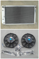 Aluminum radiator& fans  for 1966-1980 for GM  / Chevrolet AT/MT Buick Electra 1980-1985 Automatic