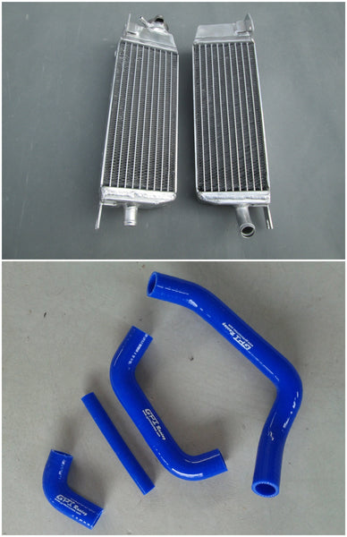 Alloy aluminum radiator for Suzuki RM250 RM 250 1985 1986 1987 86 87 RM125 1985-1988