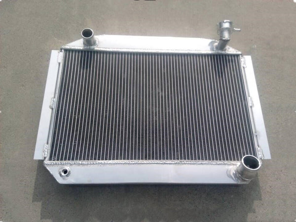 Aluminum Radiator For Chevrolet Chevy Corvette 350 C1 265/283 SB V8 MT UP TO 700HP 1955-1960