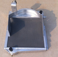 Aluminum Radiator For MG Midget 948/1098 Austin Healey Sprite Bugeye Frogeye 0.9L/1.1L A-Series I4 1958-1967
