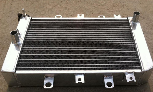 3 ROW Aluminum Radiator FOR ATV Yamaha 4WD/EPS Grizzly 700 500 SPECIAL EDITION YFM7FG YFM700/500 2007-2013 YFM7FGHX 2008 2009 2010 2011 2012