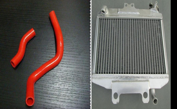 aluminum radiator AND HOSE FOR Honda CR250 CR 250 R CR250R 1997 1998 1999 97 98 - CHR Racing