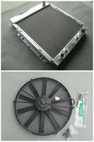 3row Aluminum Radiator & FAN for 1964-1966 FORD MUSTANG V8 260 289 AT MT 1965 64