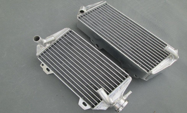 R&L aluminum radiator for Suzuki RMZ450 RMZ 450 2008-2017 2016 2015 2014 2013 15 - CHR Racing