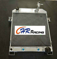 Aluminum Radiator JAGUAR MARK 2 MK2 MK II DAIMLER 2.5 V8; V8-250 1962-67 AT / MT