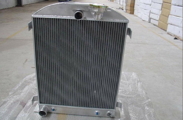 64mm 3 core for 1932 32 FORD HIBOY HI-BOY FORD engine aluminum radiator - CHR Racing