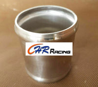"2.5"" 64mm Aluminum Hose Adapter Tube Joiner Intake Pipe Coupler Connector L=76mm - CHR Racing"