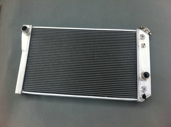 3ROW Aluminum Radiator FOR 1984-1990 Chevy Corvette 5.7 L83/S10 V8 Conversions - CHR Racing