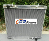 4 ROW Aluminum Radiator For MITSUBISHI DELICA SPACE GEAR 2.5 2.8 1994-2005 AT/MT - CHR Racing