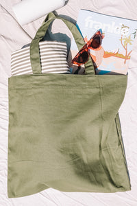Everyday Bag - Olive Green