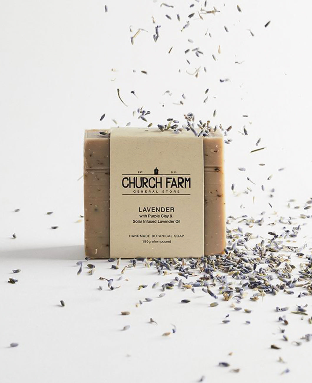 Church Farm Lavender with Purple Clay & Lavender Oil
