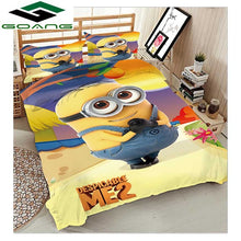 Load image into Gallery viewer, GOANG boys bedding set 3d bed sheet duvet cover pillow case 100% Microfiber fabric Cartoon sports car 3pcs kids bedding
