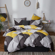 Load image into Gallery viewer, Alanna fashion bedding set Pure cotton A/B double-sided pattern Simplicity Bed sheet, quilt cover pillowcase 4-7pcs