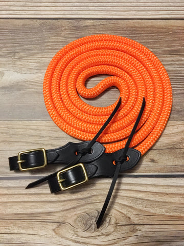 Safety Orange Reins