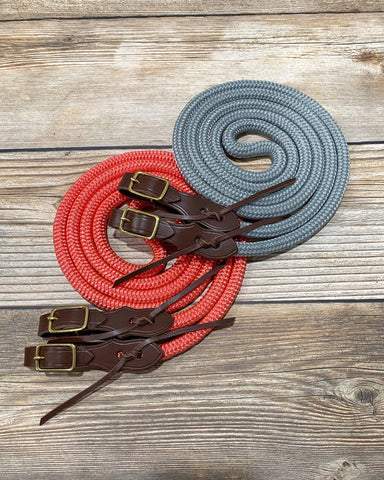Loop Reins with Quick Change Slobber Straps