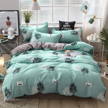 Load image into Gallery viewer, Fashion Simple Style home bedding sets bed linen duvet cover flat sheet Bedding Set Winter Full King Single Queen,bed set 2019