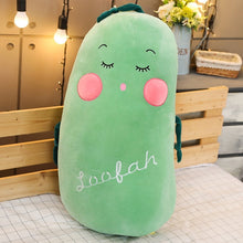Load image into Gallery viewer, Multiple Styles Selected New Fruit Vegetables Soft Plush Toy Carrot Eggplant Cucumber Stuffed Plush Doll Toy for Kids Children