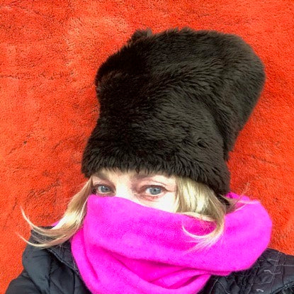 The Reggie - rugged faux fur hat