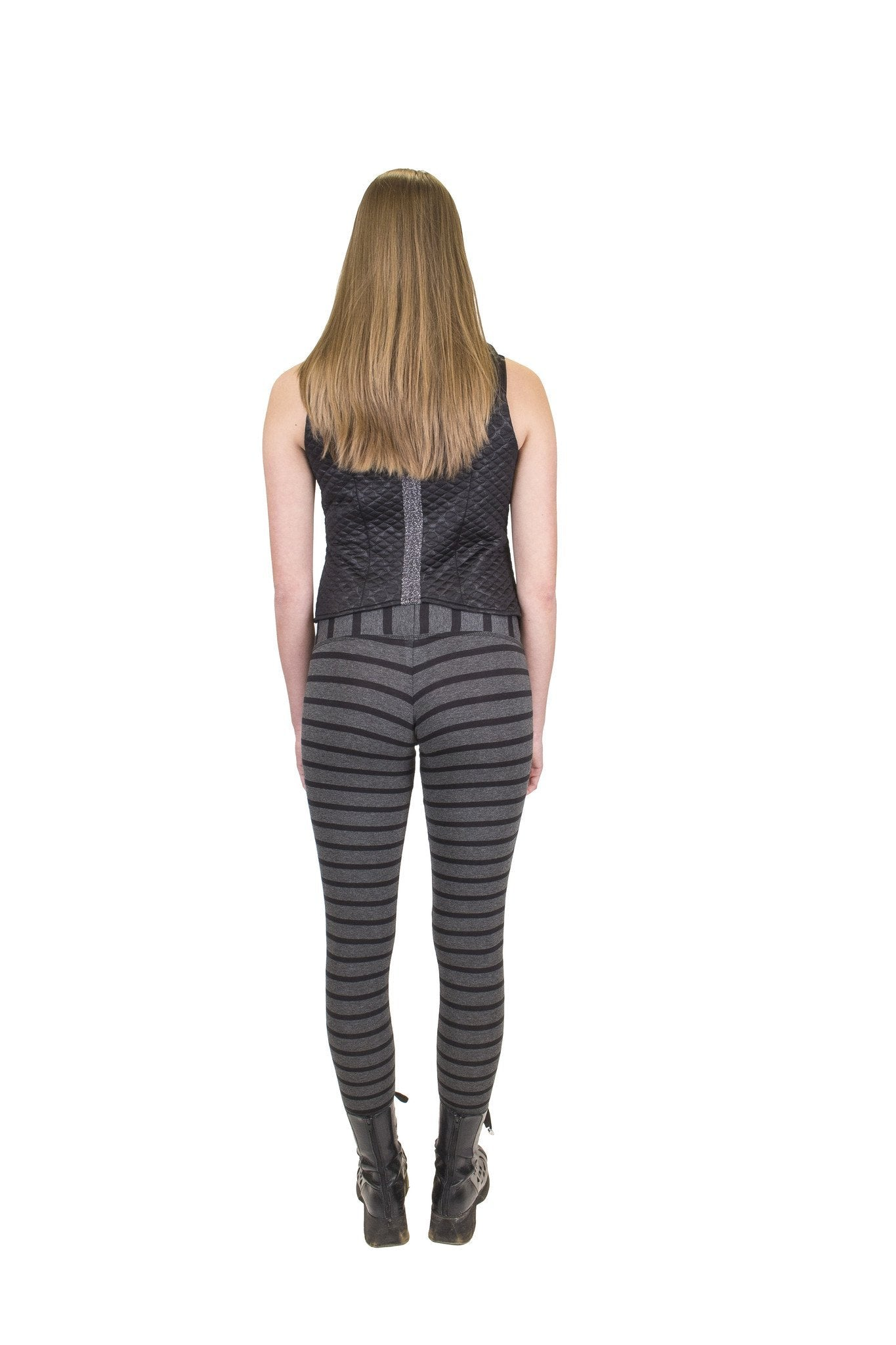 Hipster Leggings I Grey / Black