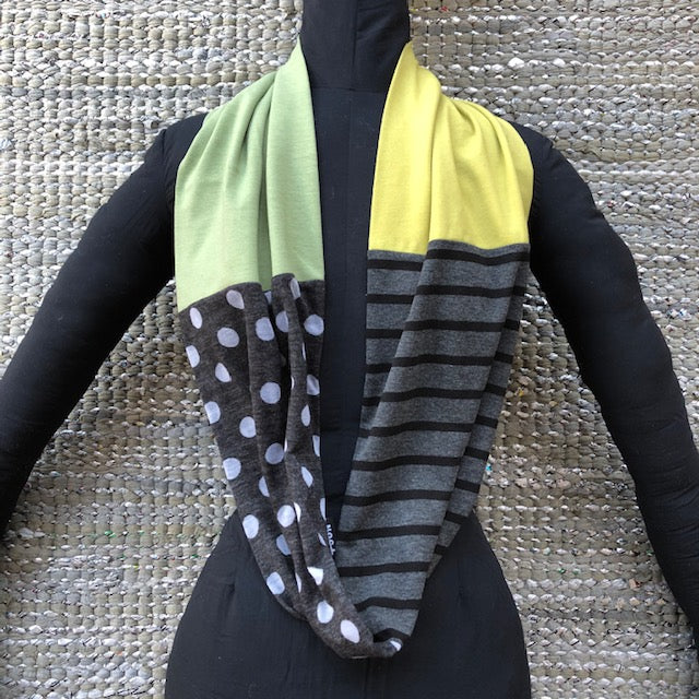 Equinox Wrap Scarf Neck Warmer for Spring