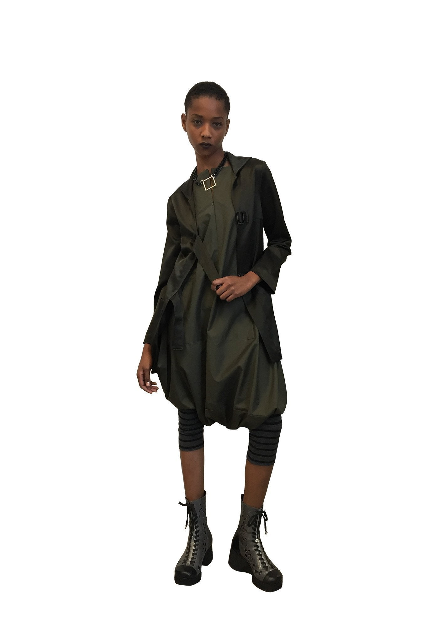 Milano Jacket I Olive Green