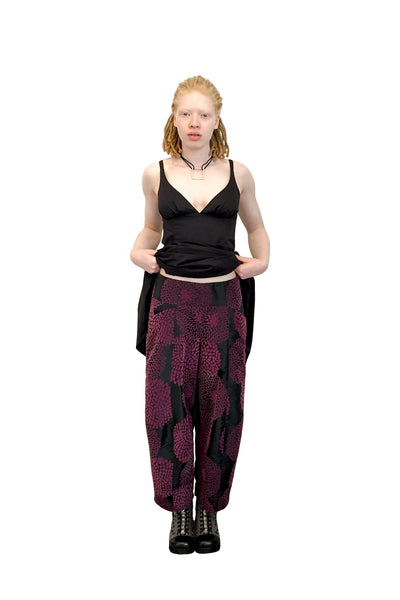 Swag High-Waisted Pant I Plum Flocking