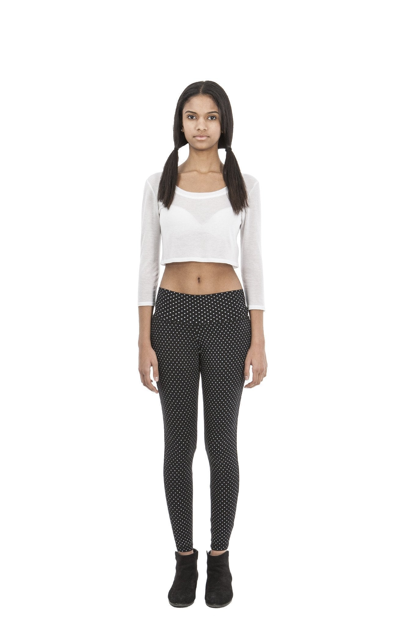 Magdelina Crop Top | Blanche