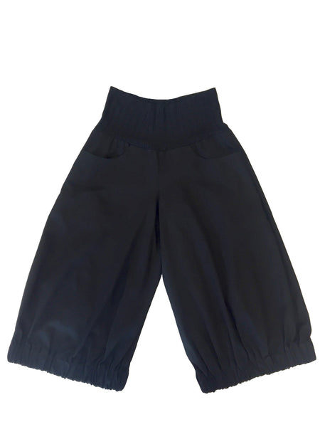 Magic Genie Pant I Black Cotton