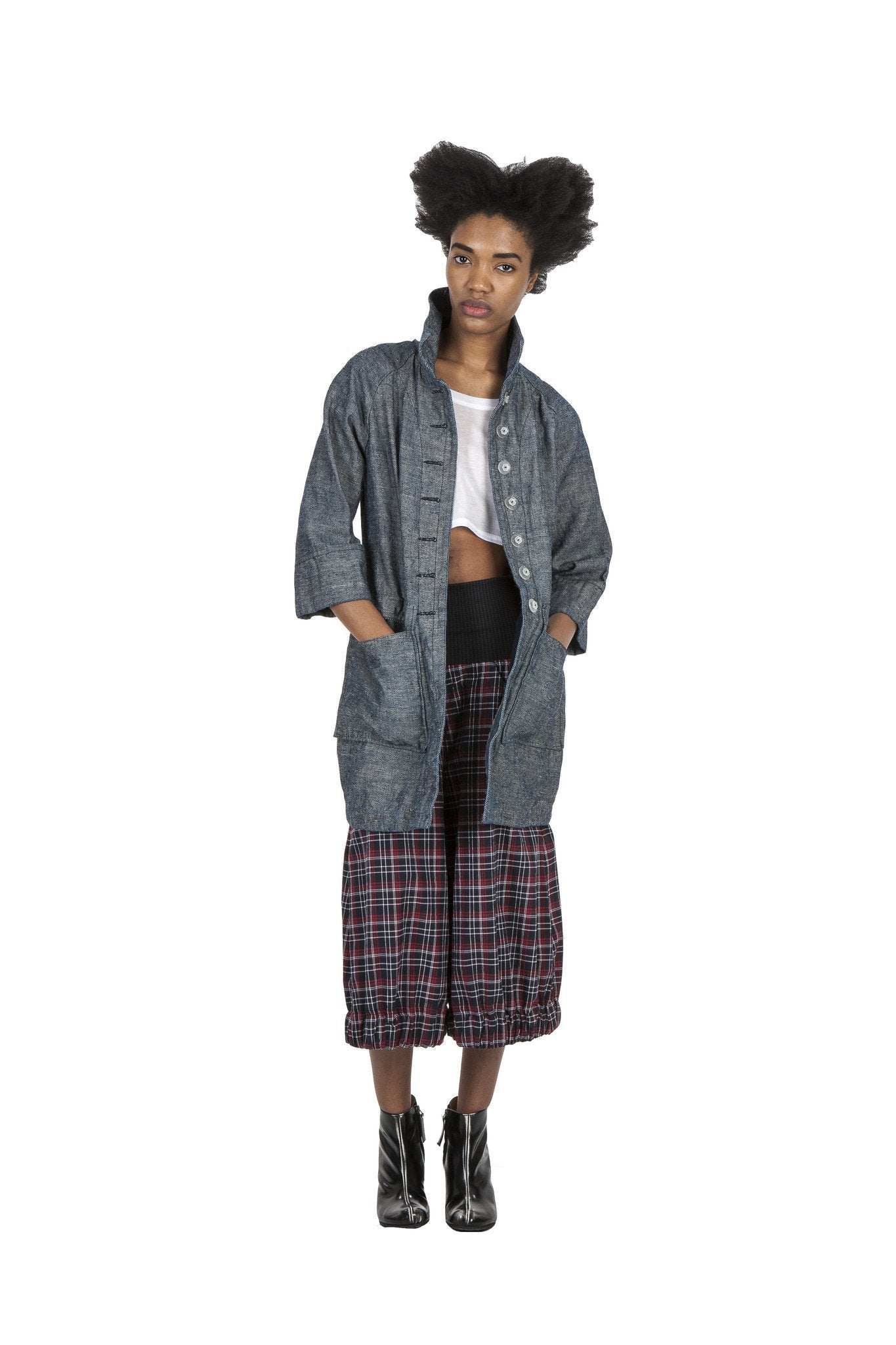 Magic Genie Pant I Plaid